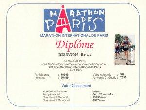 Marathon de Paris 02-04-1995