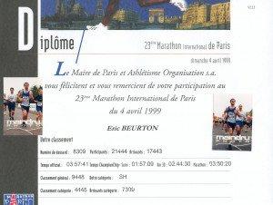 Marathon de Paris 04-04-1999