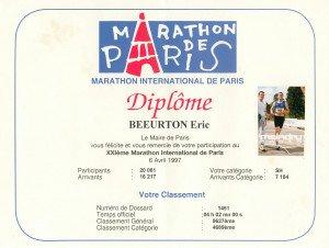 Marathon de Paris 06-04-1997