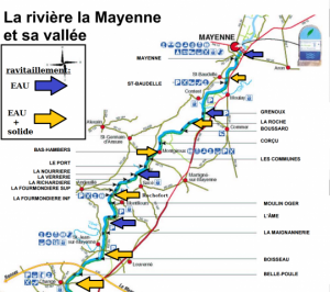 Parcours Marathon de Mayenne 25 Septembre 2016